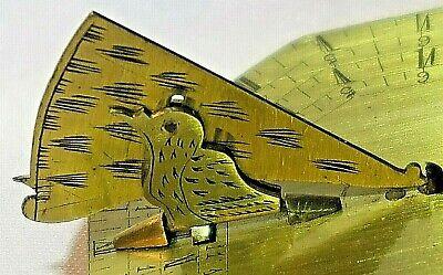 Antique French Brass Cased Pocket Sundial, circa 18th Century 4