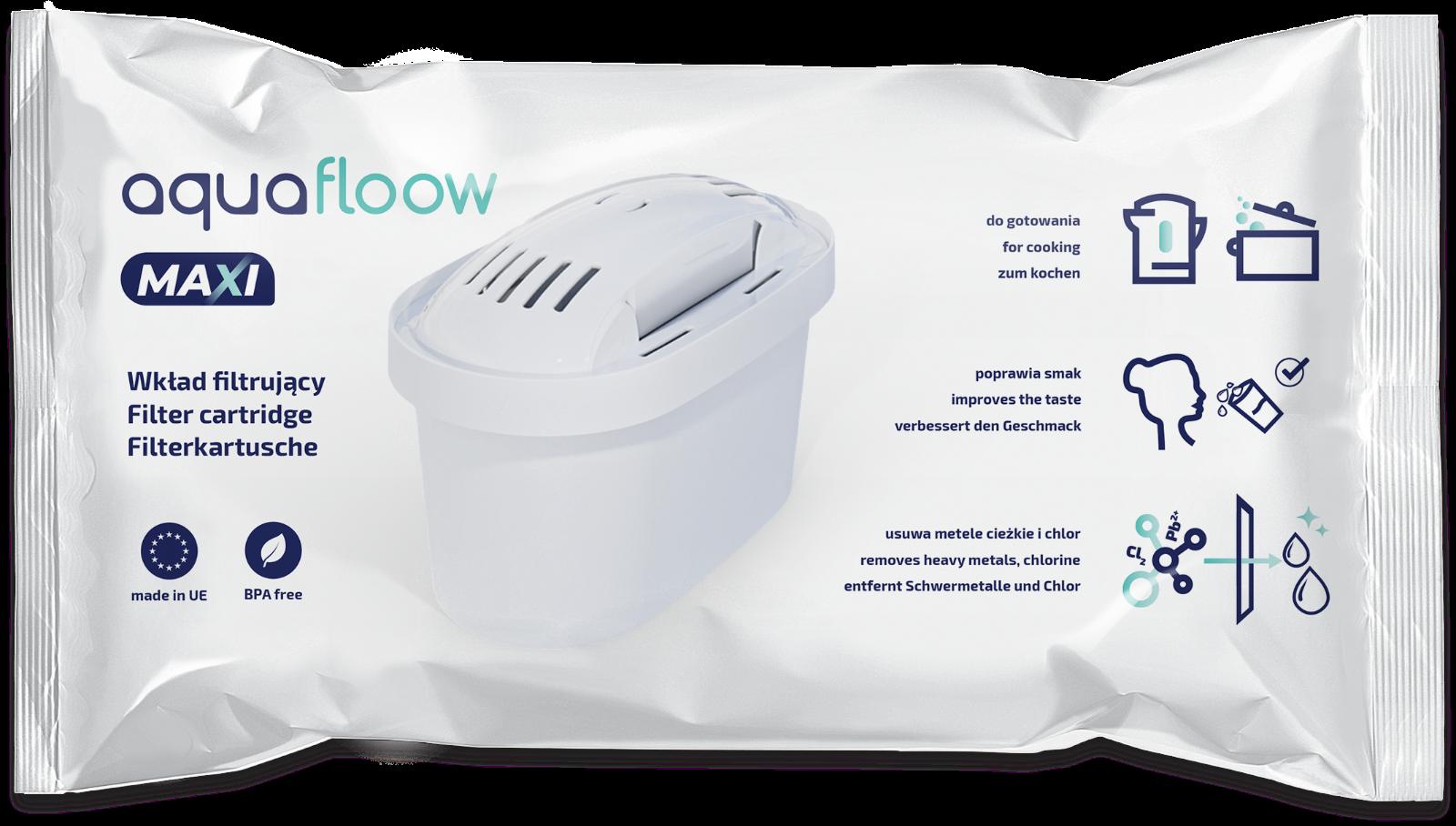 Ersatzkartuschen kompatibel mit Brita Maxtra von AquaFloow Wasserfilter 10 Stück 4