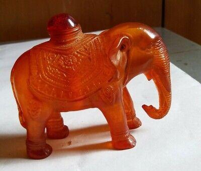 Resin Elephant Snuff bottle   鼻 2