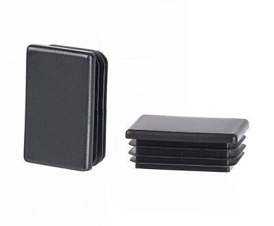 6x Endkappen Kunststoff Abschlu/ßkappen Schutzkappen Stopfen Vierkant-Abdeckkappen 30x30mm