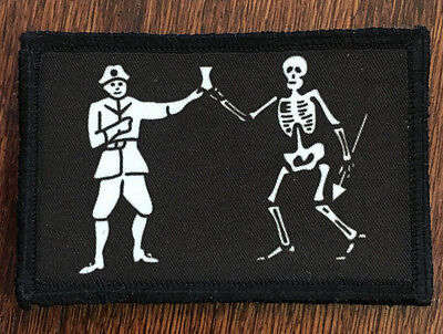 1x4  With A Pencil Morale Patch Tactical Military Army Flag 12