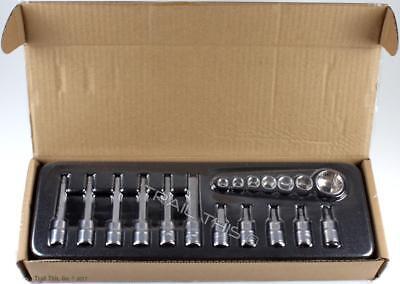 """SBS-1.2 Socket Set 18-Piece 3//8/"""" Park Tool TW-5.2 Bike Torque Wrench 2-14Nm"""