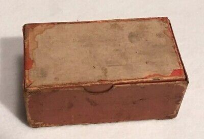Antique Nature's Cure Blood Purifier Apothecary Pharmacy Box National Drug Co. 12