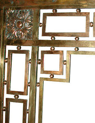 Bronze Entry Doors with Transom #509 3