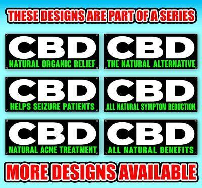 CBD Oil Vinyl Banner Size Options
