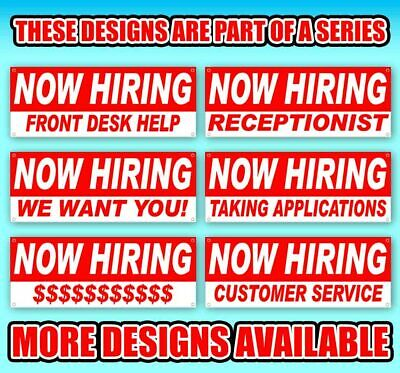 NOW HIRING CDL DRIVERS Advertising Vinyl Banner Flag Sign Many Sizes USA