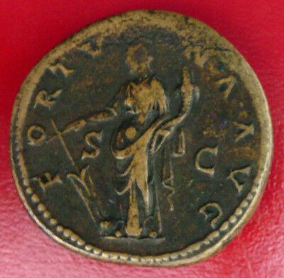 Mint Roman Sestertius Rome 133 - Hadrien 117-138 2