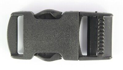 Side Release Buckles Black Plastic Clips Belts Rucksacks  Replacement All Sizes 5