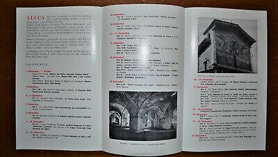 Lucca Festa Della Santa Croce 3 Depliant Vintage 1956-61-67 4