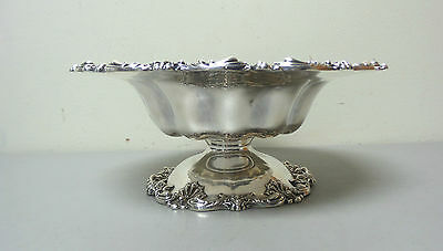 """Gorgeous American Redlich & Co Sterling Silver Large 10.5"""" Compote / Centerpiece 8"""