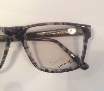 8d62364182dae8 4 sur 7 Lunettes Paco Rabanne NOS neuves 90 s vintage écaille noir PR 611