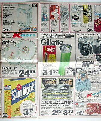 Ancienne Grande Circulaire De 1982 Des Magasins K-Mart, 10 Pages 3