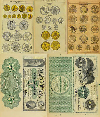200 Old Books & Publications On Money Counterfeiting & Counterfeit Detector Dvd 10