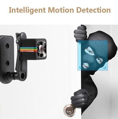 Telecamera Spia Microcamera Infrarossi Full Hd Nascosta Micro Notturna Mini Sq11 4