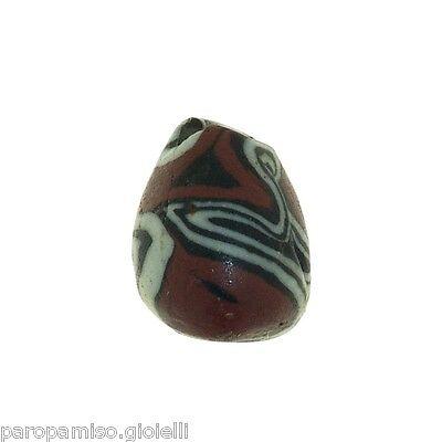 Early Islamic Glass Bead   (0430) 4