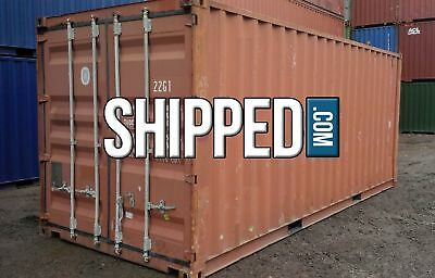 USED 20' SHIPPING CONTAINER for HOME BUSINESS STORAGE WE DELIVER NEW ORLEANS, LA 3