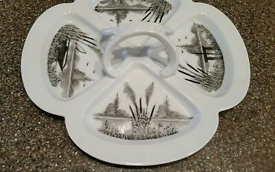 Antique Limoges Hand Painted Scenic Tray