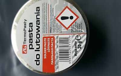New flux soldering paste in the 40g tin for electronics SMD plumbing DIY etc 4