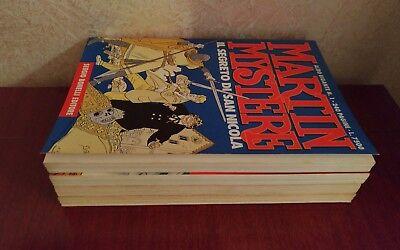 Lotto Albo Gigante Martin Mystere Sequenza 1-4 Prima Edizione Originali Bonelli! 4