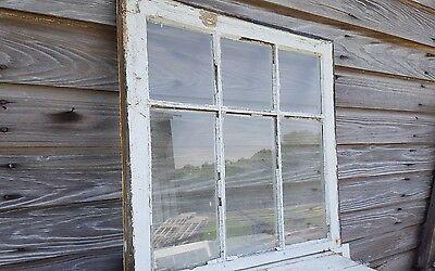 Vintage Sash Antique Wood Window Picture Frame Pinterest Reclaimed 27X25 2