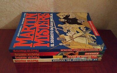Lotto Albo Gigante Martin Mystere Sequenza 1-4 Prima Edizione Originali Bonelli! 3