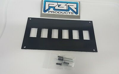Honda pioneer 1000 4 over 4 8 switch holes dash plate bracket 2 power outlet
