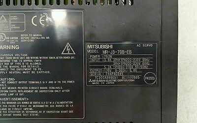 Mitsubishi MR-J3-70B-EB Ac Servo Lecteur 1H