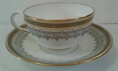 Cauldon Teacup and Saucer Bone China England