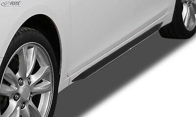 RDX Seitenschweller VW Polo 6R & Polo 6C schwarz glänzend eintragungsfrei
