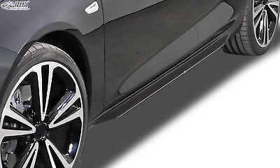 RDX Seitenschweller AUDI A5 Coupe+Cabrio+Sportback sw glänzend eintragungsfrei