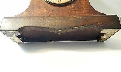 Large Antique Gilbert Mantle Clock w/key- Working 9