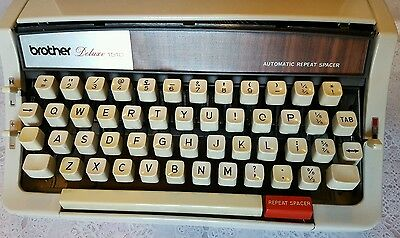 Brother Deluxe 1510 Typewriter In Case 2