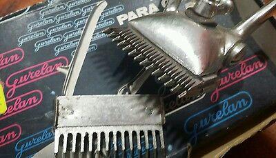 Máquina manual para cortar el pelo GURELAN años 50-60 4
