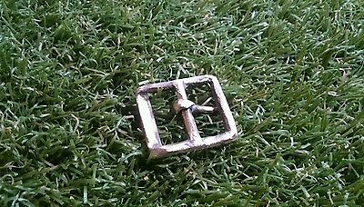 Lovely 1500 century Bronze belt buckle found in Yorkshire uk from private collec 3