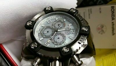 Invicta Arsenal Reserve 63mm Grand 15834 Swiss Made Quartz Chro Stainless Steel 6