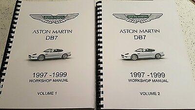 ASTON MARTIN V12 VANQUISH 01-07 PARTS WORKSHOP /& OBD MANUAL FULL SET REPRINTED