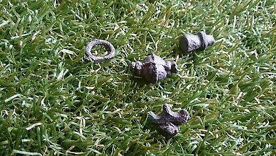 Nice Roman pendant parts lot from Yorkshire uk 1970s 2