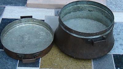 Antique 18C Islamic Afgan Decorative  Cooking 2 Pieces Pot 2