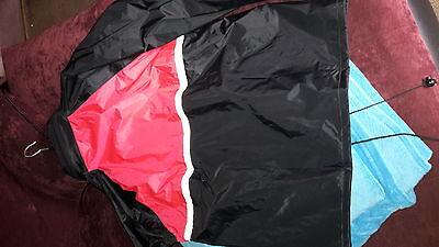XL Uvex Regenjacke Hydro Rot mit herausziehbarer Kapuze Gr