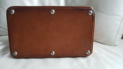 Antike alte Arzttasche aus Leder Nest Hofmann Carlsbad um 1920 orig.Schutztasche 7