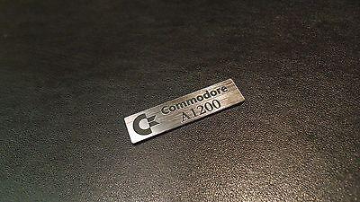 Badge 63 x 13 mm Logo 272b Commodore 1084S Label Sticker