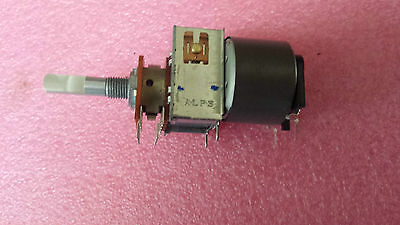 ALPS 100KBX2 Motorized Potentiometer lot of 1 piece  tracked postage