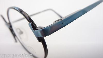 Röhm Kinderbrille Mädchenbrille unisex oval Federbügel blau grün preiswert neu 3