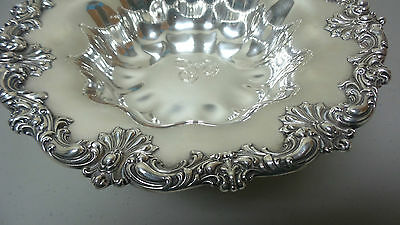 """Gorgeous American Redlich & Co Sterling Silver Large 10.5"""" Compote / Centerpiece 10"""