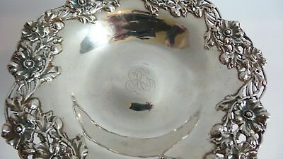 "Sterling Silver 7.5"" Tazza Compote, Black, Starr & Frost, New York, c.1890 8"