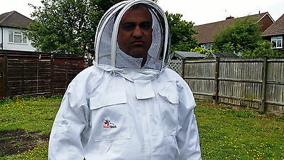 Beekeeping suit Beekeepers Bee Suit with Fencing Veil-All sizes UK Seller 7