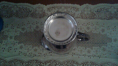 Silverplated Briarcliff by Oneida Water Pitcher 3