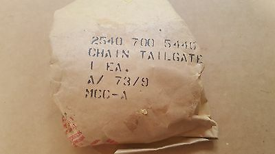 Dodge M37 Tailgate Hook and Chain NOS G741