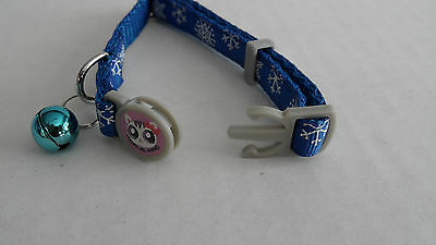 Christmas Snowflake Cat Kitten Safety Collar 3
