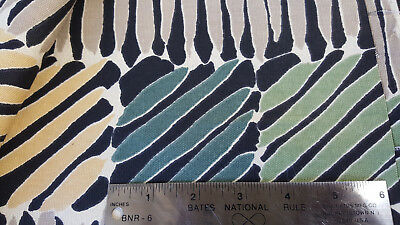 """5th avenue Zebra color blocks COTTON Designer Upholstery Fabric by the yard 54/"""""""